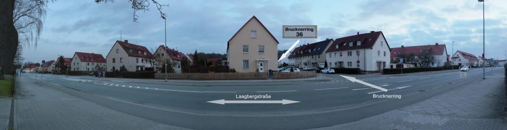 Anfahrtskizze-Pension-Wob Brucknerring 36 38440 Wolfsburg